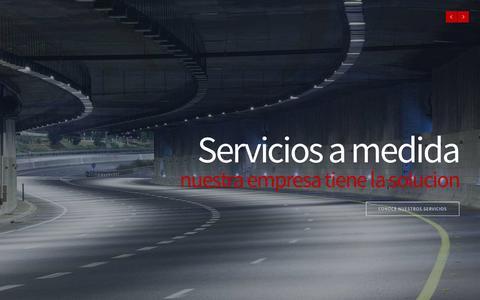 Screenshot of Home Page mipelsa.com - Mipelsa | Conservación y mantenimiento de Carreteras, Obras públicas, hidráulicas y civil, etc. - captured Aug. 2, 2015