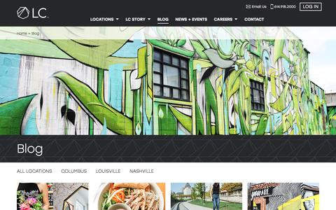 Screenshot of Blog lifestylecommunities.com - LC |     Blog | Things to Do in Columbus, Louisville and Nashville - captured July 20, 2018