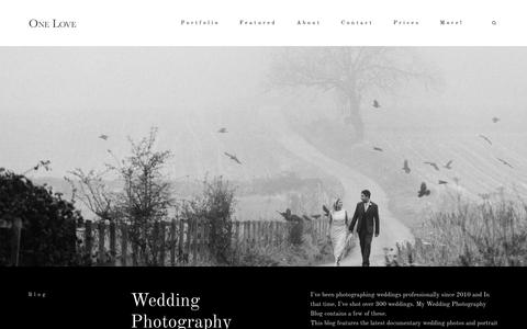 Screenshot of Blog nottingham-wedding-photographer.com - Wedding Photography Blog | Wedding Photographer Nottingham - captured Sept. 30, 2018