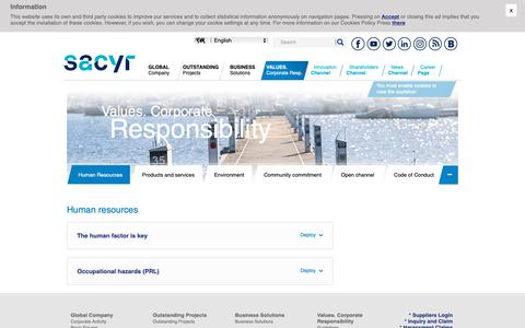 Screenshot of Team Page sacyr.com - Human resources - captured Oct. 18, 2018