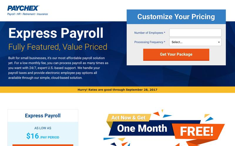 Paychex Express Payroll