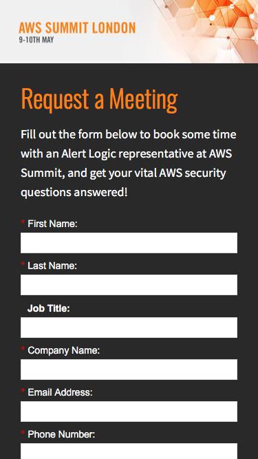Alert Logic at AWS Summit, 2018