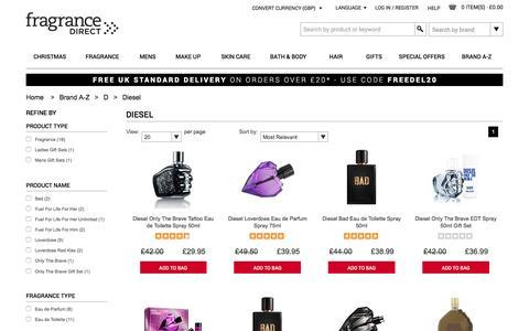 Diesel Aftershave, Perfume & Fragrance Gift Sets | Fragrance Direct