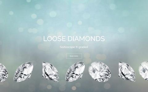 Screenshot of Home Page ptdiamonds.com - PTDiamonds – Loose diamonds |PTDiamonds - captured July 7, 2017