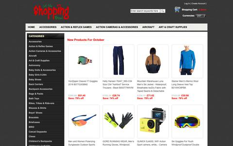 Screenshot of Home Page mississaugayouthgames.com - cheap name brand clothes for men,jewellery brand - captured Oct. 1, 2018