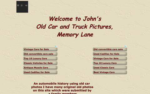 Screenshot of Home Page oldcarandtruckpictures.com - Old Car and Truck Pictures, Memory Lane, Classy Old CarOld Car and Truck Pictures, Memory Lane, Classy Old Car, Classic automobilesAvaya certification - testking avaya certification practice exam, free testking avaya certification650-472 - free testk - captured Oct. 7, 2017