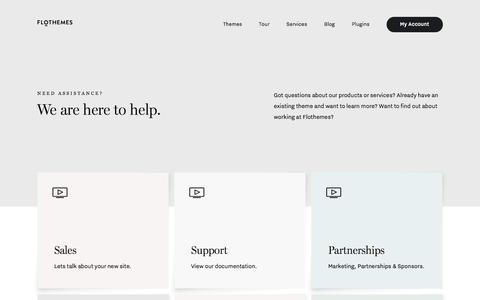 Get in Touch - Contact Flothemes