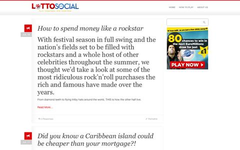 Screenshot of Press Page lotto-social.com - Lotto Social | Play National Lottery & EuroMillions syndicates - captured Oct. 31, 2014