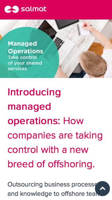 Managed Operations - Take control of your shared services with this new breed of offshoring