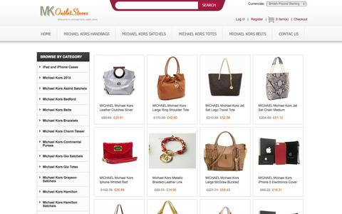 Screenshot of Home Page birchwoodhigh.co.uk - Michael Kors Official Website - Cheap Michael Kors Handbags Outlet Sale - captured Oct. 5, 2014