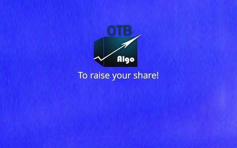Screenshot of Contact Page otb-algo.com - OTB-Algo - captured Oct. 9, 2014
