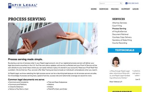 We Provide Nationwide Service of Process, Make us Your Process Server