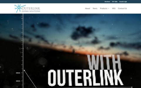 Screenshot of Home Page outerlink.com - Outerlink Global Solutions | Reliable Mobile Asset Communications - captured Sept. 24, 2018