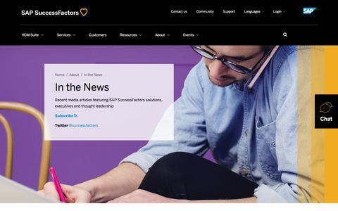 In the News             | SuccessFactors