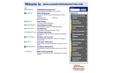 Welcome to MARIJUANANETWORKMARKETING.COM