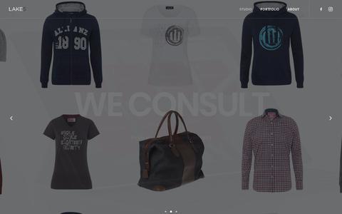 Screenshot of Home Page lake5.eu - Studio | LAKE5 Consulting GmbH - captured Sept. 25, 2018