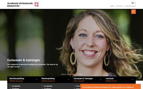 Screenshot of Home Page av-m.nl - Home - captured Oct. 2, 2018