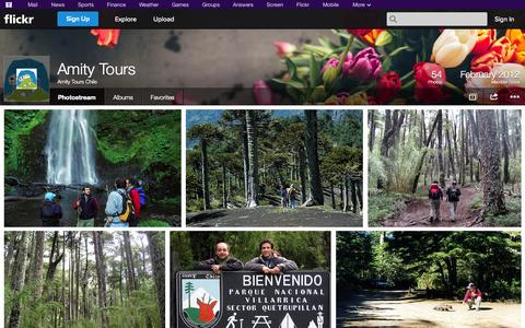 Screenshot of Flickr Page flickr.com - Flickr: Amity Tours Chile's Photostream - captured Oct. 23, 2014
