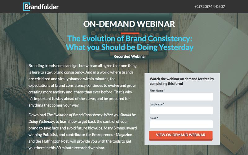 [On-Demand Webinar] The Evolution of Brand Consistency: What You Should be Doing Yesterday
