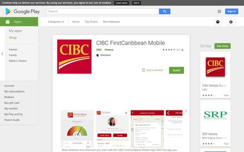 CIBC FirstCaribbean Mobile - Apps on Google Play