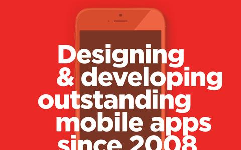 Screenshot of Home Page buuuk.com - Home � buUuk � Mobile App Development Agency | iOS, Android, Blackberry & Windows Phone Developers | Mobile App Development Singapore - captured Jan. 7, 2016