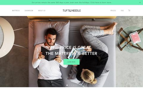 Quality Mattress at a Fair Price | Tuft & Needle