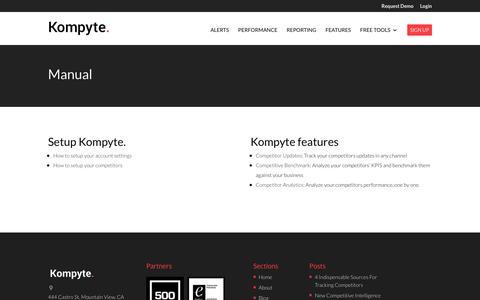 Manual | Kompyte