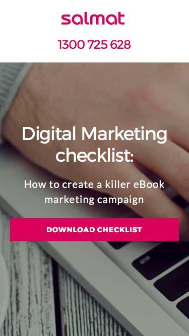 Salmat – Digital Marketing Checklist