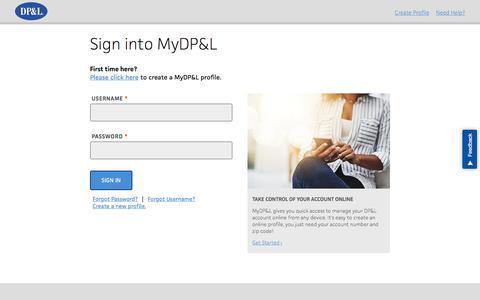 Screenshot of Signup Page dpandl.com - Log in - DPL Web Portal - captured July 13, 2019