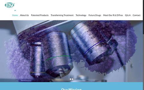 Screenshot of About Page tosk.com - Tosk - captured Oct. 28, 2017