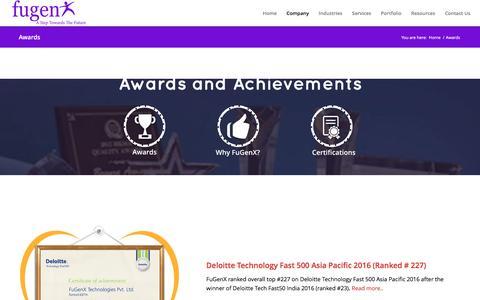 Awards - FuGenX