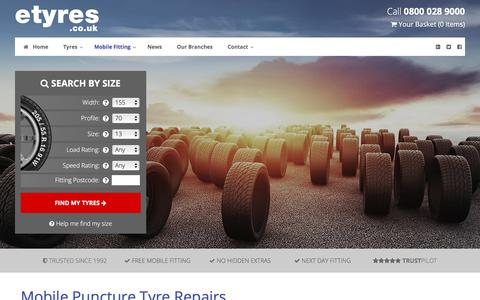Mobile Tyre Puncture Repair - Same Day Puncture Repairs | etyres