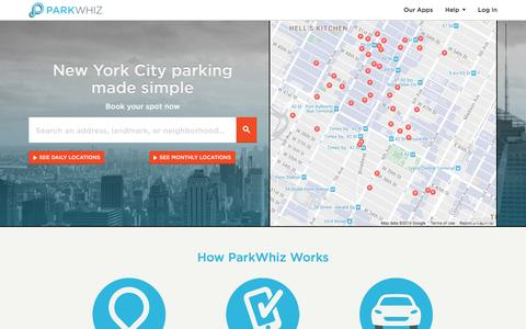 NYC Parking From $12 - Find, Book & Save 60% on NYC Parking | Guaranteed Parking - ParkWhiz