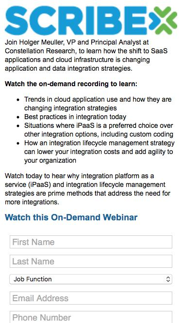 Cloud Disruption: The Immediate Need for New Integration Strategies