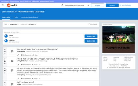 reddit.com: search results - National General Insurance