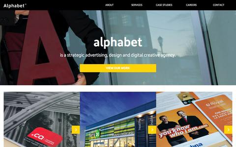 Home - Alphabet® | A strategic advertising, design and digital creative agency.