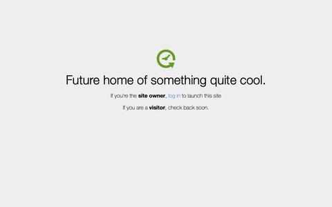 Screenshot of Home Page aci-inc.biz - Coming Soon - captured Oct. 4, 2018