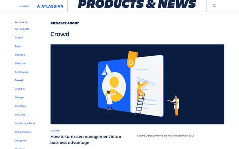 Screenshot of Blog atlassian.com - Crowd - Atlassian Blog - captured Feb. 8, 2020