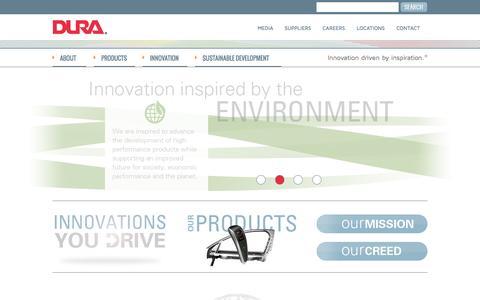 DURA Automotive Systems - Innovation Driven by Inspiration.