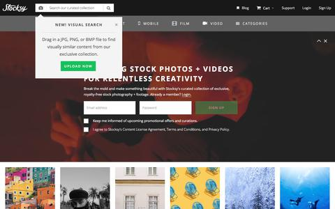 Stocksy United - Stock Photos and Videos for the Relentlessly Creative