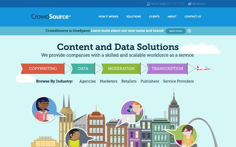 CrowdSource.com - Managed Crowdsourcing Solutions
