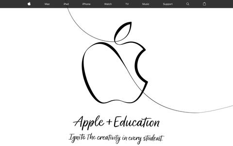 Screenshot of Home Page apple.com - Apple - captured March 28, 2018