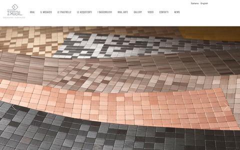 Screenshot of Home Page irial.it - IRIAL - captured Oct. 4, 2014