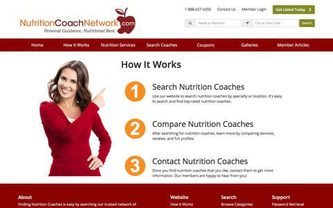 Screenshot of About Page nutritioncoachnetwork.com - About Us - NutritionCoachNetwork.com - captured Sept. 21, 2018