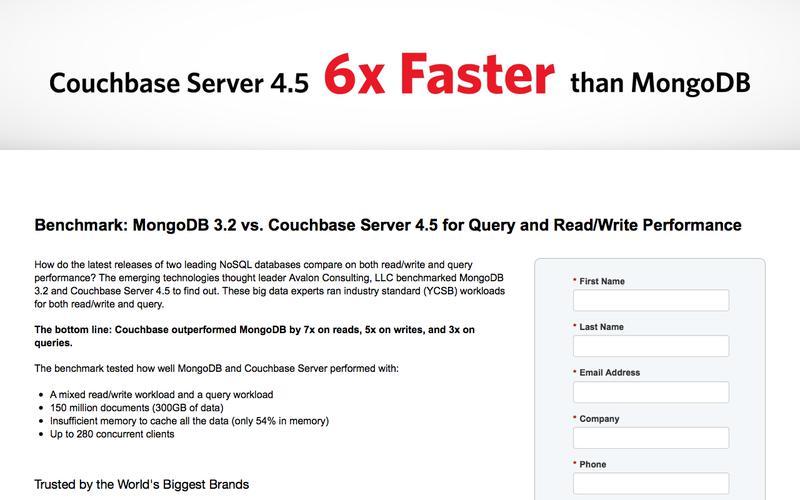 Benchmark: MongoDB 3.0 vs. Couchbase Server 3.0.2