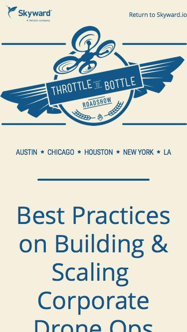Throttle to Bottle: Fly, Eat, Drink, Mingle