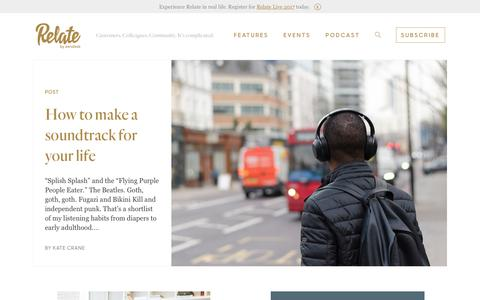 Home | Relate by Zendesk