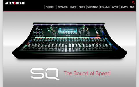 Allen & Heath - Professional audio mixing consoles