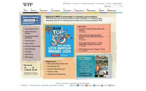 Advertising, Branding, Consumer Insight, Digital, Marketing, PR, Design, Media - WPP