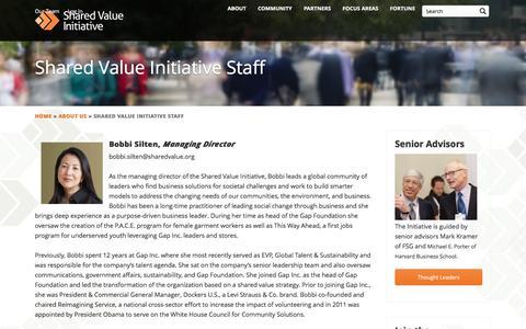 Screenshot of Team Page sharedvalue.org - Shared Value Initiative Staff | Shared Value Initiative - captured Sept. 22, 2018